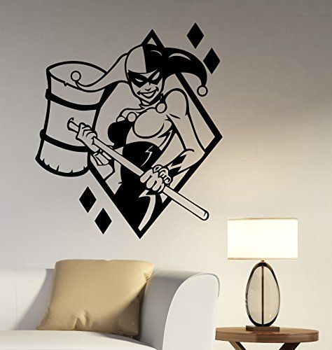 1751 best papercutting images on pinterest papercutting for Harley quinn bedroom ideas