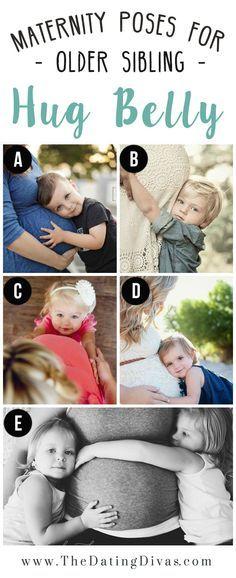 Posen mit Geschwisterkind
