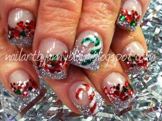 Christmas Holiday #nails #nailart