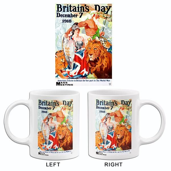Britain S Day 1918 World War I Propaganda Mug World War I