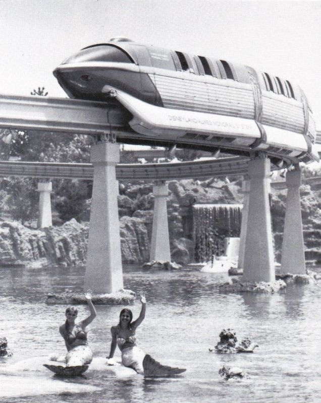 Disneyland used to have Mermaids until boys started jumping in and swimming out to them. LOL <3 I would've done the same!