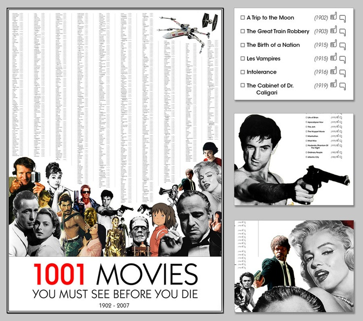 1001 Movies by VKorpela