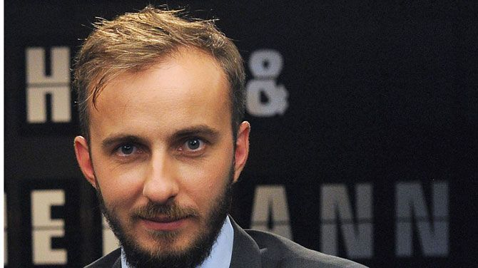 Duitse komiek Jan Böhmermann last tv-pauze in