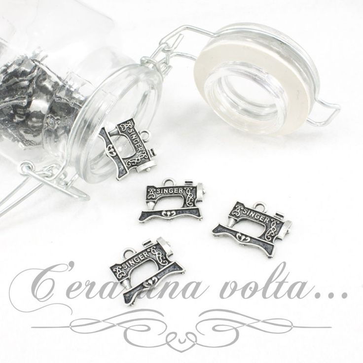 Merceriaceraunavolta.it | Charms macchina da cucire