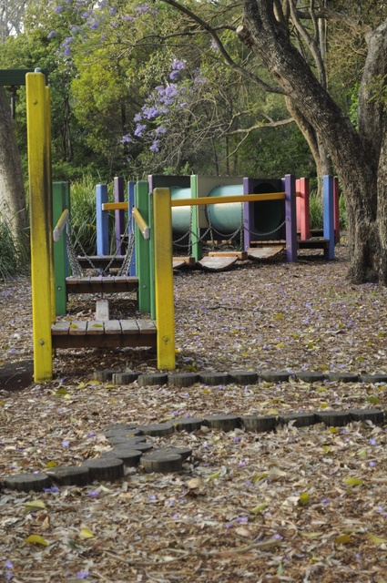 Colmslie Beach Reserve is a beautiful reserve by the Brisbane River. This section of the 'Octopus Playground' is located in a natural setting. #brisbaneparks
