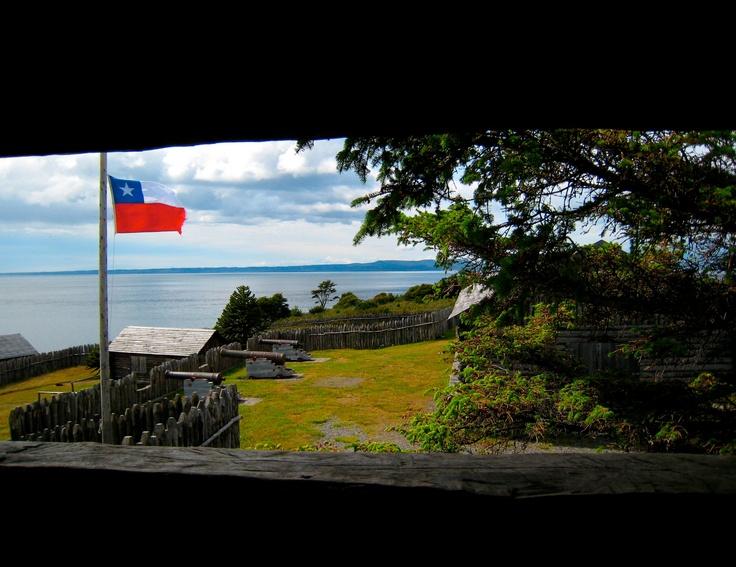 Bulnes Fort in the Patagonia