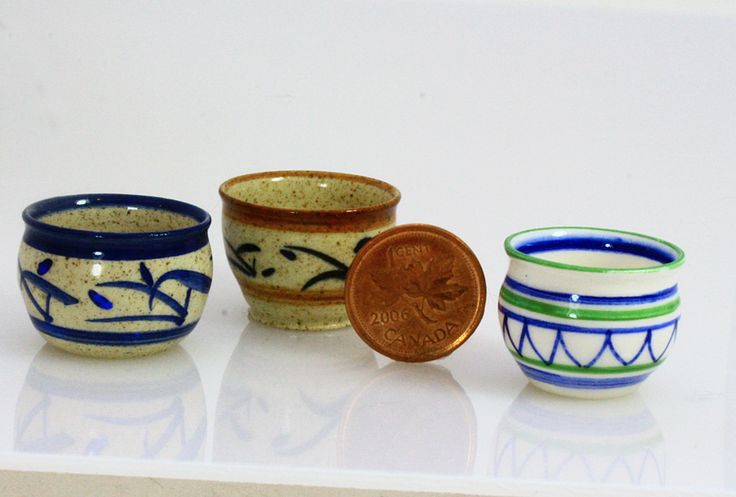 1/12 scale stoneware planters from Small Scale Showcase