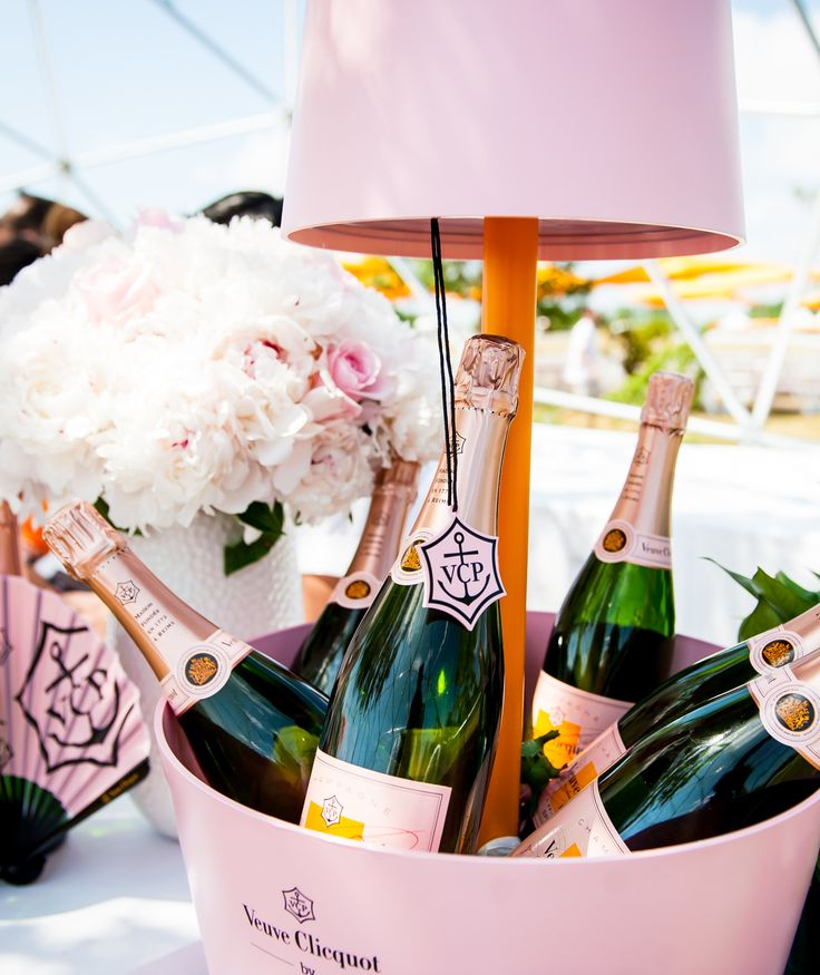 The Rosé Garden at The Eighth Annual Veuve Clicquot Polo Classic #VCPoloClassic