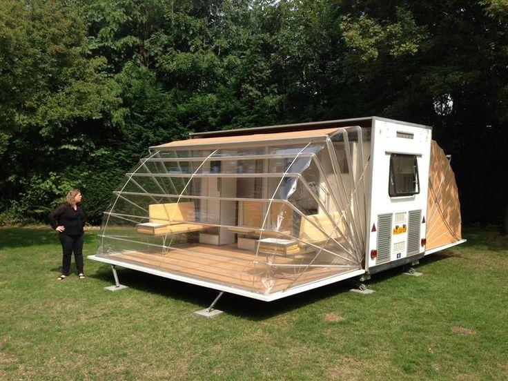 Fold-out caravan | Cars and caravans | Pinterest | Campsite