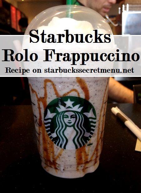 Starbucks Secret Menu Rolo Frappuccino! Recipe here: http://starbuckssecretmenu.net/starbucks-secret-menu-rolo-frappuccino/