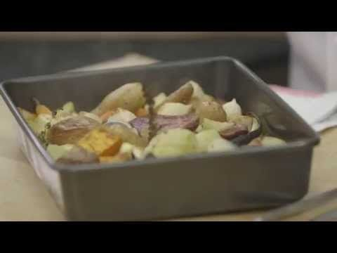 Roasted Vegetables in 30 Minutes with Wolfgang Puck - YouTube