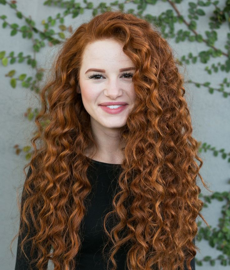 madelaine petsch curly red hair new book 10