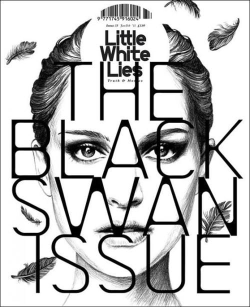 Title: Little White Lies | Issue: #33 | Cover Art: David Carson | Period: January/February 2011