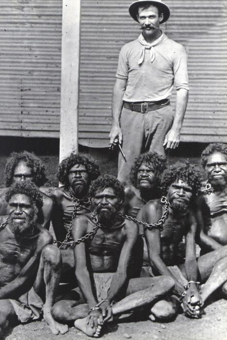 (History) Until the mid-60s, the Aborigines came under the Flora And Fauna Act, which classified them as animals, not human beings. This also meant that killing an Aborigine meant you weren't killing a human being, but an animal.