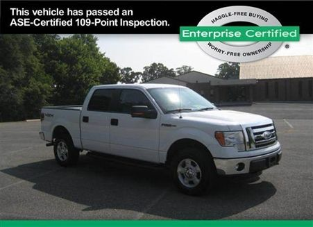 Used FORD F150 SuperCrew Cab 2011 FORD F150 SuperCrew Cab Richmond, VA - Enterprise Used Cars