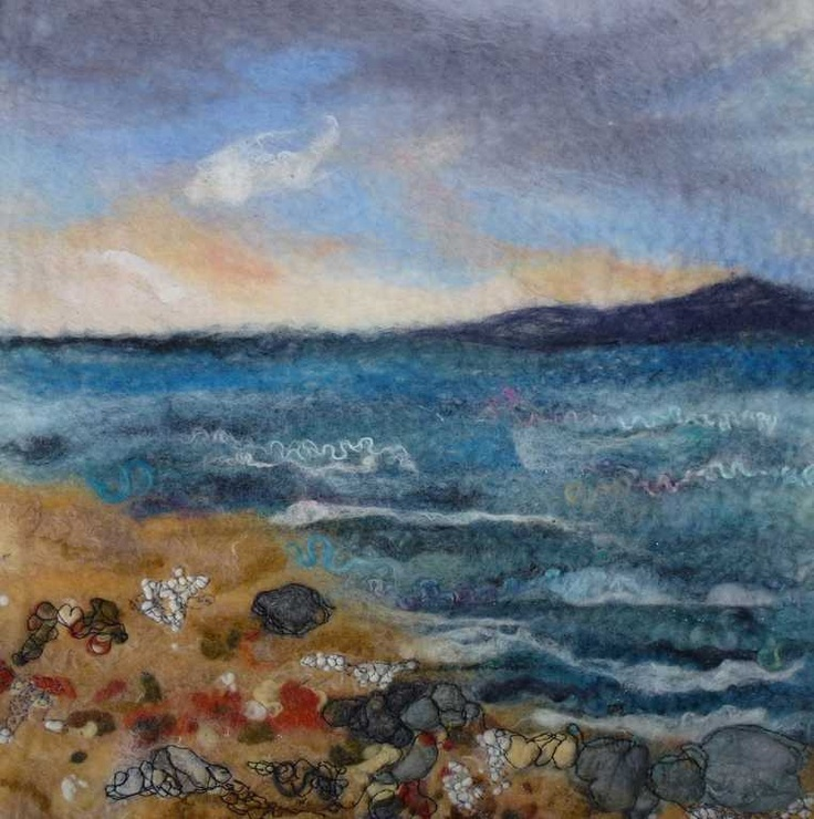 """"""" Across The Bay"""" SOLD - Threlfall's Art Studio 