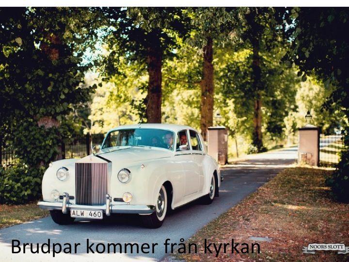limousin, bröllop, åka kungligt, allé