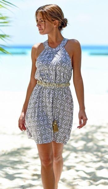 Skemo Camel Maldives Beach Dress
