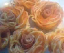 Spaghetti Cupcakes | Official Thermomix Recipe Community
