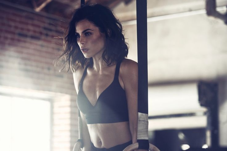 Jenna Dewan Tatum behind the scenes on Danskin campaign