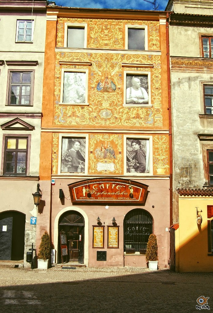Lublin, Old Town. Trybunalska