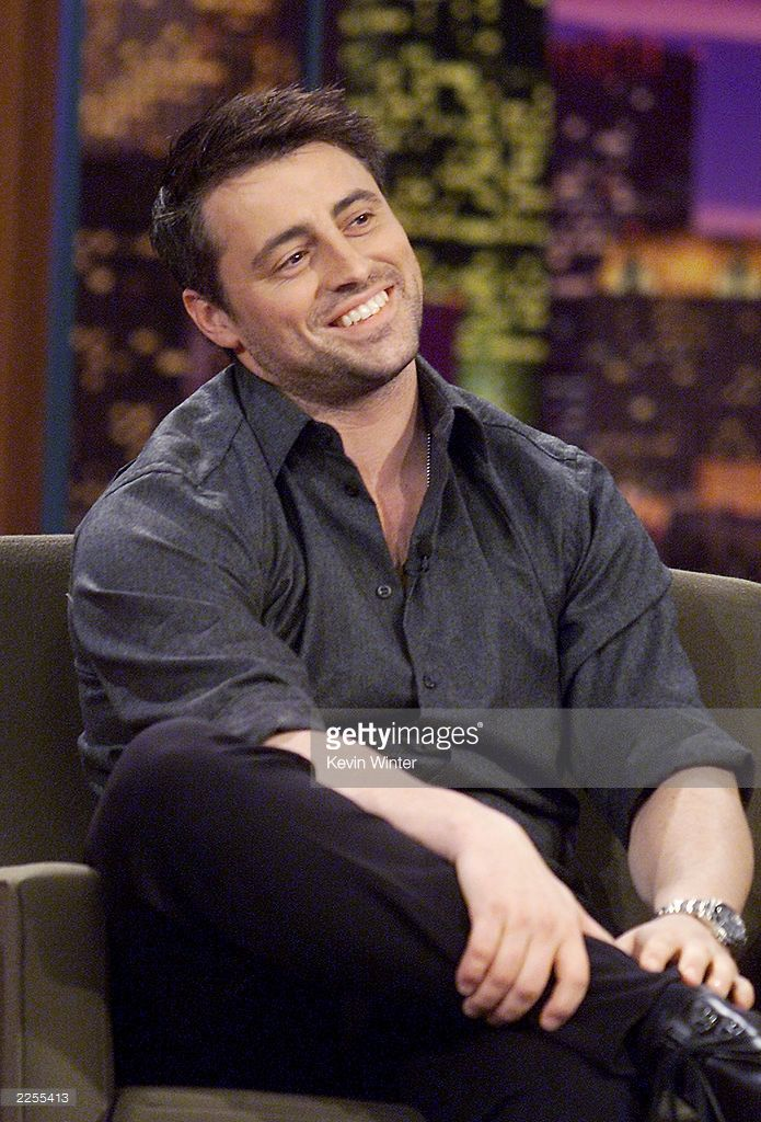 Matt LeBlanc on 'The Tonight Show with Jay Leno' at the NBC Studios in Los Angeles, Ca. Wednesday, Jan. 30, 2002. Photo by Kevin Winter/Getty Images.