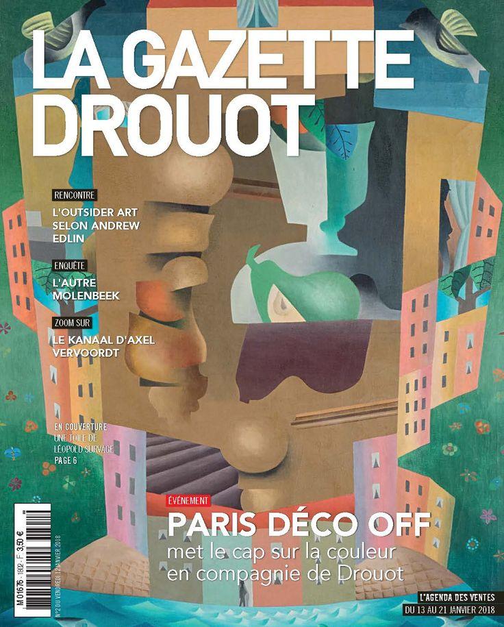 Gazette Drouot n°2 du 12 janvier 2018. #Survage #LeopoldSurvage #Auction #Enchères #ArtMarket #WebZine