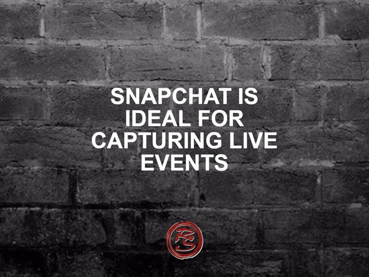 Snapchat's filter known as Live Stories enables snapchatters to add their snap to a story if they are on location. This gives your audience access to a live event, presented from a personal point of view.    #RockSM #SMM #Snapchat #Events #Live #Stories #Audiences