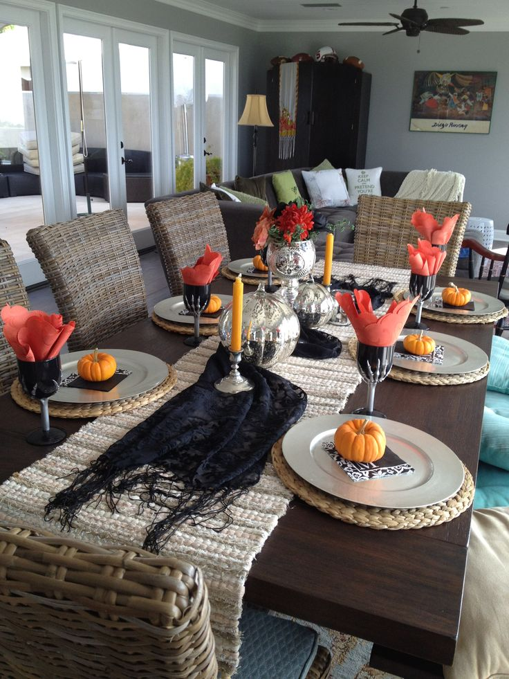 263 best Halloween Dining Rooms images on Pinterest
