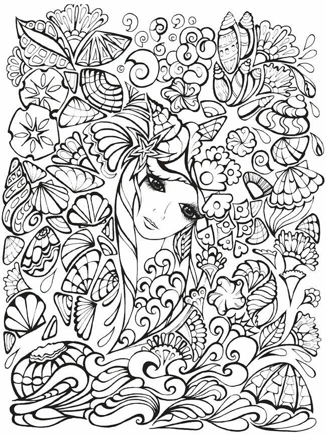 creative coloring pages for teens - photo#6