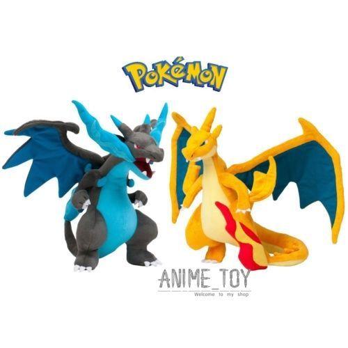 Pokemon Charizard Mega Figures Soft Stuffed Plush Doll Kids Children Toy Gift #Unbranded