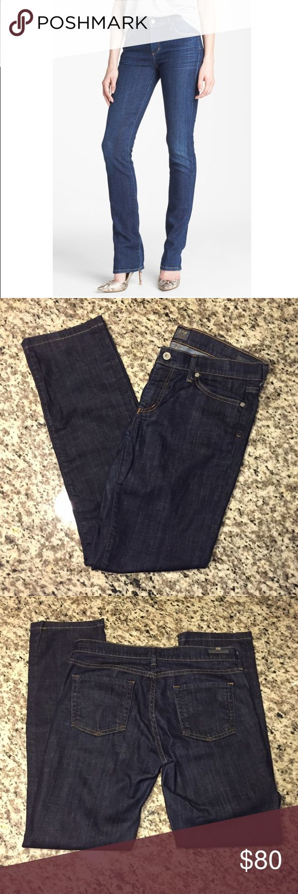 "🔥flash sale🔥 CoH 'Elson' Mid rise straight leg Awesome CoH Citizens of Humanity midrise straight leg jeans. These have been hemmed, but are in perfect condition. Inseam- 30"" waist -16"".   Open to reasonable offers, please no low balls :) Citizens of Humanity Jeans Straight Leg"