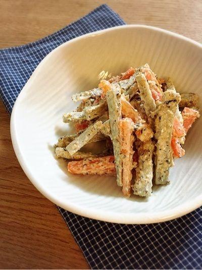 ゆかり風味のごぼうサラダ by kanaさん | レシピブログ - 料理ブログの ...