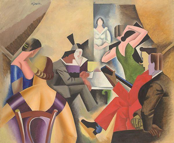 André Lhote, <em>La danse au bar (Gypsy Bar)</em> (circa 1920-25), sold for £1,142,500 ($1,644,058). Photo: courtesy Christie's.