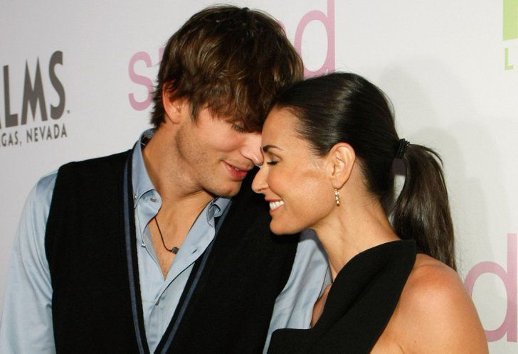 Pin for Later: 27 Hollywood Ladies and Their Hot Younger Guys Demi Moore and Ashton Kutcher Age difference: 15 years Relationship status: Demi and Ashton's divorce was finalized in November 2013, about two years after they separated.
