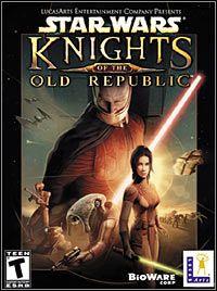 Star Wars: Knights of the Old Republic (PC) Pierwszy cRPG osadzony w świecie Gwiezdnych Wojen, rozgrywający się 4000 lat przed wydarzeniami ukazanymi w epizodach filmowych, w czasach Starej Republiki, gdzie trwa wieczna walka między mocami Jedi i Sith.