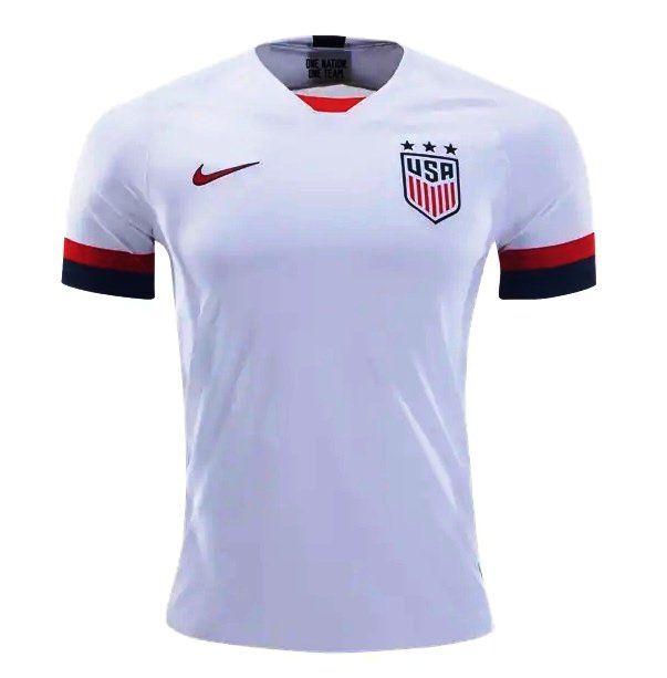 Usmnt Nike 2019 2020 Home Jersey Soccer Whith Fan Shirt Cr7 Neymar Mancity Manchesterunited Rooney Championsleague Like4 Athletic Bilbao Unites