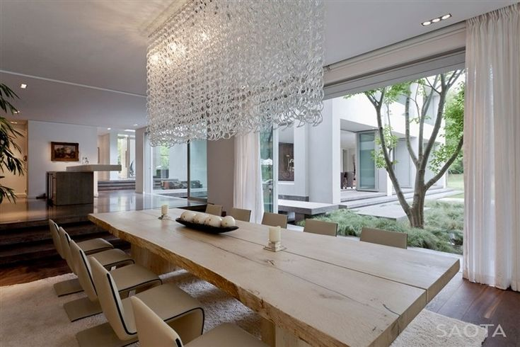The Silverhurst Residence    This beautiful contemporary residence designed by SAOTA and Antoni Associates is located in Constantia, Cape Town and features custom made Pierre Cronje furniture.