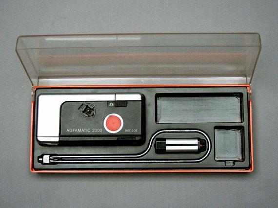 Vintage 1970s AGFA Afgamatic 2000 camera Model Afga Gevaert