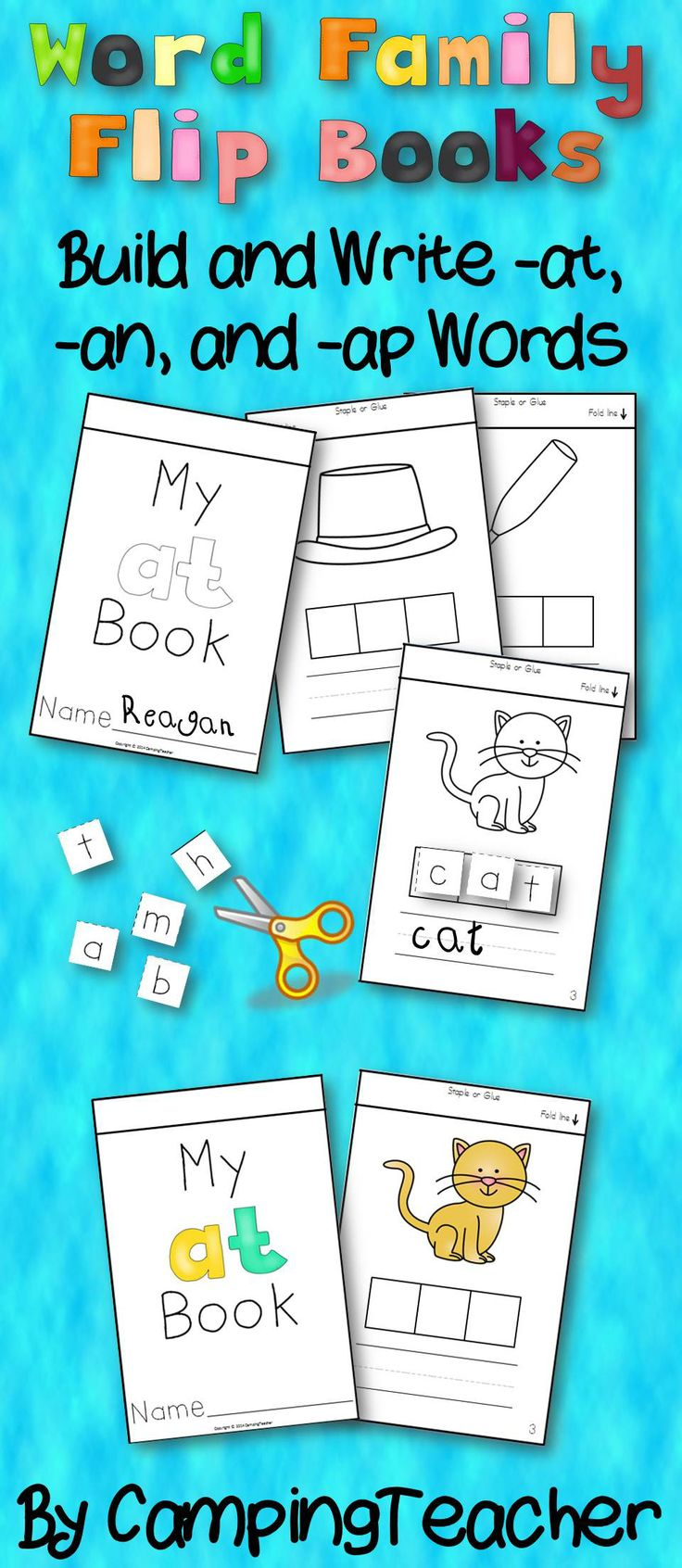 Best 25 flip books ideas on pinterest flip learn flip flip and word family flip books build and write at an ap gamestrikefo Gallery