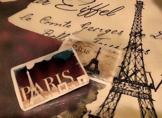 Custom Soap Bars Paris SoapAny Photo You Want by AliceInWonderSpa