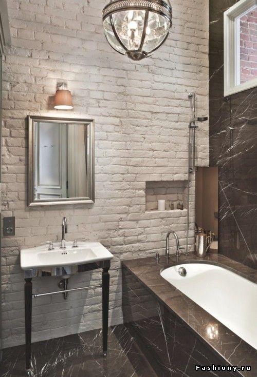 Интерьерное вдохновение: Ванные комнаты