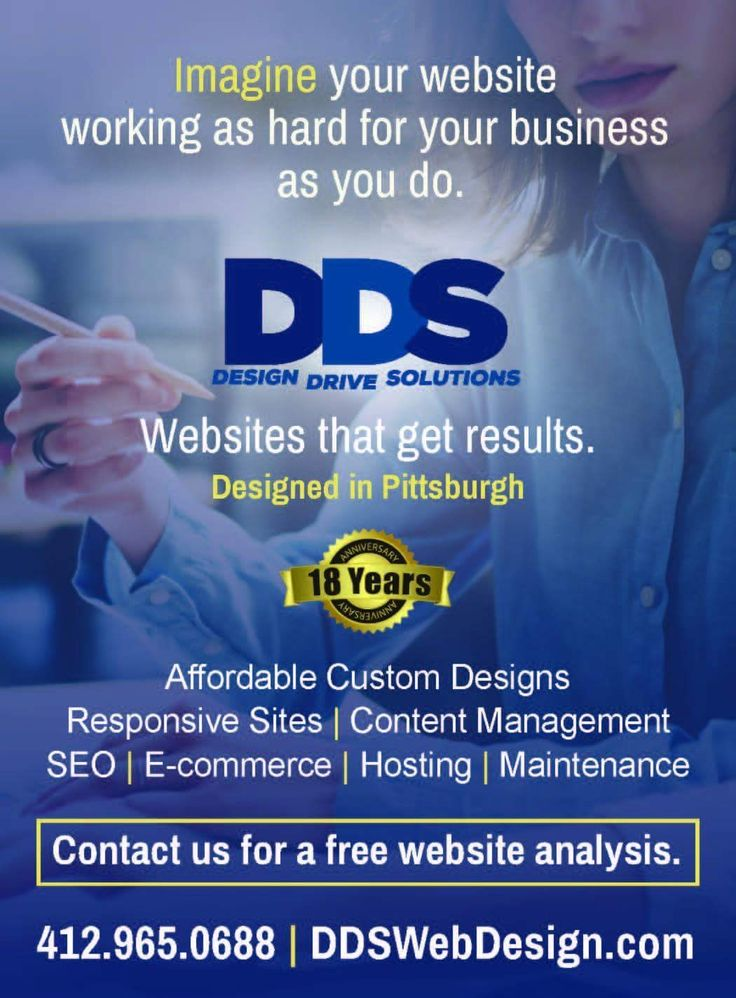 DDS Web Design LLC is passionate about helping businesses grow and succeed by designing a custom web site that drives traffic and get results! Dedicated to serving small businesses and non-profits with pricing to meet every budget!  Contact them today for a FREE website analysis www.ddswebdesign.com.