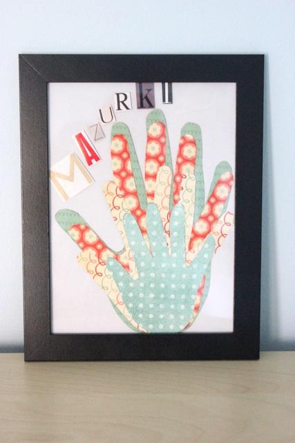 family hands in frame :)