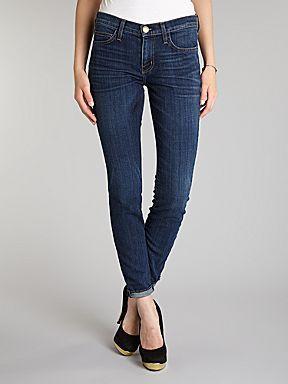 Current Elliott, Was £240 Now £120  http://www.houseoffraser.co.uk/Current+Elliott+The+Rolled+Skinny+jeans+in+Gibson/184701299,default,pd.htmlWomenswear Denim, Denim Dark, Gibson Denim