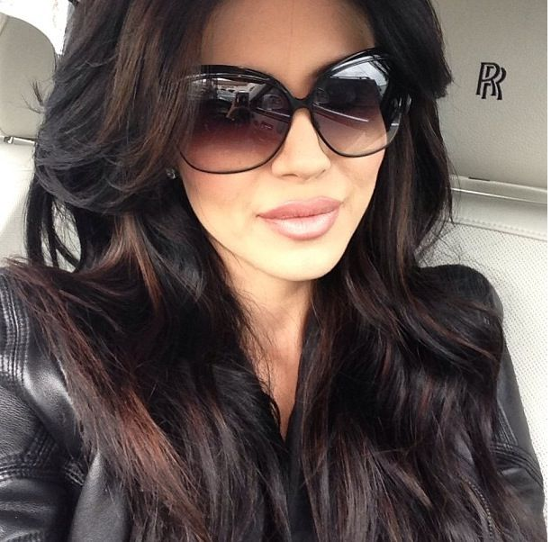 Leyla Milanis hair is amazing...even if it's extensions :)