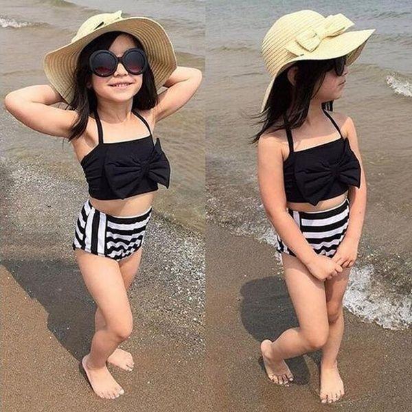 2019 Mädchen Kinder Bademode Tankini Badeanzug Bikini Baby Badende Kostüm Schwimmen für 3-12Y   – Products