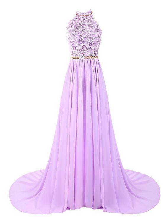 Sexy Prom Dress,Long Prom Dress,Chiffon Evening Dress,Backless Prom Dresses by fancygirldress, $169.00 USD