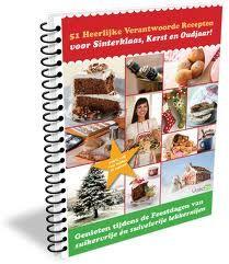 51 Suikervrije recepten voor Sinterklaas, Kerst en Oud- en nieuw. Te koop via de onderstaande site http://www.paypro.nl/producten/Suikervrije_Recepten_voor_Sinterklaas_Kerst_en_Oudjaar/8758/35555