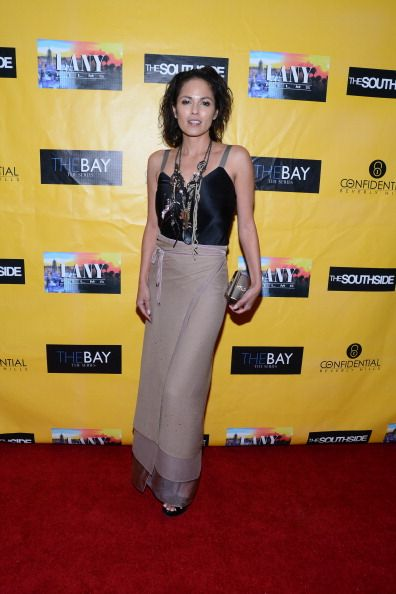 Terri Ivens arrives at 'The Bay' The Series Daytime Emmy Official After Party at Confidential Beverly Hills on June 23 2012 in Beverly Hills...
